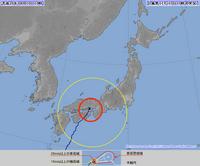 2014年台風第11号 2014年8月10日10時実況