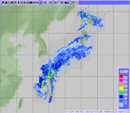 2011年5月29日0時 気象レーダー