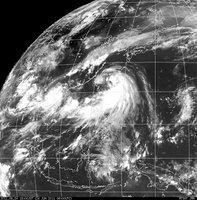 011年6月24日18時現在 台風4号&5号